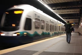 Seattle Sound Transit (Photo Credit: Transportation for America, Creative Commons license, http://www.flickr.com/photos/t4america/5415978003/)